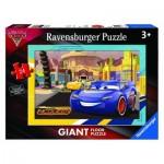 Ravensburger-05519 Puzzle Géant de Sol - Cars 3