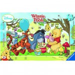 Ravensburger-06018 Puzzle Cadre - Winnie l'ourson : La fête du miel
