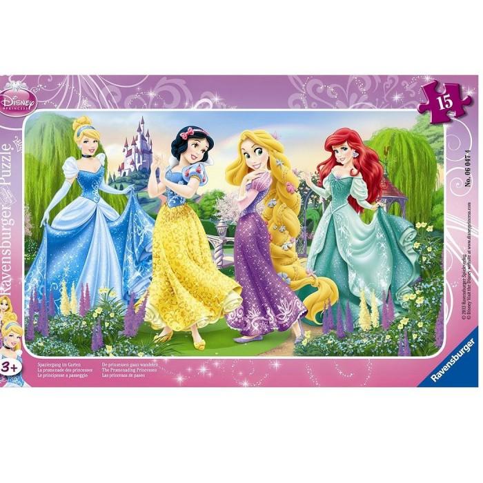 Puzzle cadre - La promenade des princesses