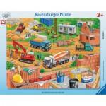 Ravensburger-06058 Puzzle Cadre - Travaux sur le Chantier