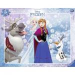 Ravensburger-06141 Puzzle Cadre - La Reine des Neiges