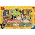 Ravensburger-06151 Puzzle Cadre - La Petite Taupe