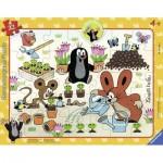 Ravensburger-06153 Puzzle Cadre - La Petite Taupe