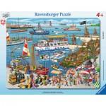 Ravensburger-06163 Puzzle Cadre - Marina