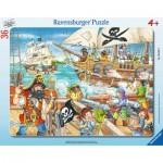 Ravensburger-06165 Puzzle Cadre - Pirates