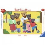 Ravensburger-06167 Puzzle Cadre - Petit Ours Brun