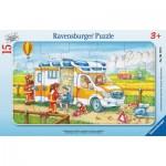Ravensburger-06170 Puzzle Cadre - Ambulance