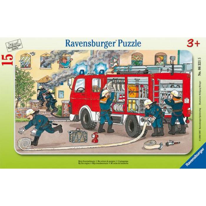 Puzzle Cadre - Les Pompiers