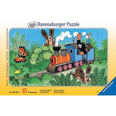 Puzzle Ravensburger-06349 Taupinet,  Conducteur de locomotive