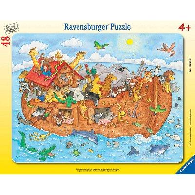Puzzle Ravensburger-06604 L'arche de Noé