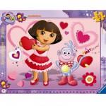 Ravensburger-06611 Puzzle Cadre - Adorable Dora