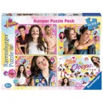 Ravensburger-06880 4 Puzzles - Soy Luna