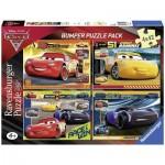 Puzzle  Ravensburger-06890 Disney - Cars 3 (4 x 42 Pièces)