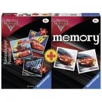 Ravensburger-06926 3 Puzzles + Memory - Cars 3