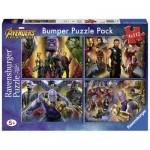 Ravensburger-06994 Bumper Pack 4 Puzzles - Avengers Infinity War