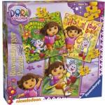 Puzzle  Ravensburger-07134 Dora l'Exploratrice