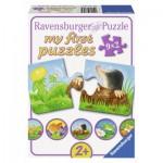 Puzzle  Ravensburger-07313 Animaux du Jardin