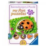 Ravensburger-07368 6 Puzzles - Où habitent les Animaux