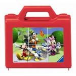 Ravensburger-07465 Puzzle Cubes - Mickey en Vadrouille