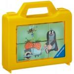 Ravensburger-07466 Puzzle Cubes - La Petite Taupe dans le Jardin