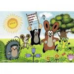 Ravensburger-07558 2 Puzzles - La Leçon en s'amusant