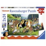 Ravensburger-07807 2 Puzzles - Yakari
