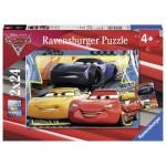 Ravensburger-07810 2 Puzzles - Cars 3