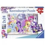Ravensburger-07812 2 Puzzles - Mon Petit Poney