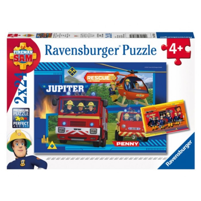 2 Puzzles - Sam le Pompier