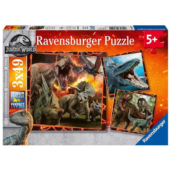 3 Puzzles - Jurassic World