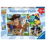 Ravensburger-08067 3 Puzzles - Toy Story