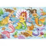 Puzzle  Ravensburger-08684 Les Reines de l'Océan
