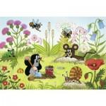 Ravensburger-08861 2 Puzzles - La Taupe dans le Jardin