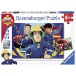Ravensburger-09042 2 Puzzles - Fireman Sam