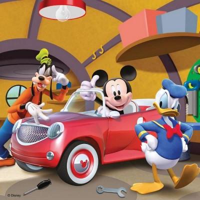 Ravensburger-09247 3 Puzzles - Tout le monde aime Mickey