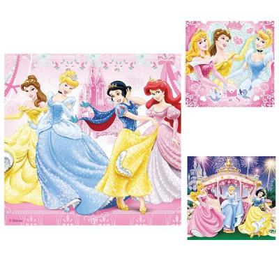 Ravensburger-09277 3 Puzzles - Blanche-Neige et ses amies