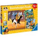 Puzzle  Ravensburger-09389 Yakari en voyage