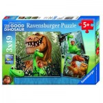 Ravensburger-09410 3 Puzzles - The Good Dinosaur