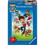 Ravensburger-09437-05 Mini Puzzle - Pat' Patrouille