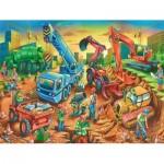 Puzzle  Ravensburger-09517 Équipe de Construction