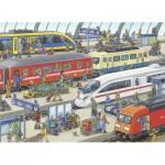 Puzzle  Ravensburger-09610 Gare Moderne