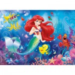 Puzzle  Ravensburger-10003 Disney Princesses : Ariel