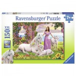 Puzzle  Ravensburger-10008 Belle Princesse