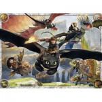 Puzzle  Ravensburger-10015 Dragons