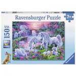 Puzzle  Ravensburger-10021 Pièces XXL - Licornes au Coucher du Soleil