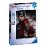 Puzzle  Ravensburger-10034 Pièces XXL - Captain America