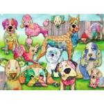 Puzzle  Ravensburger-10041 Pièces XXL - Patchwork Pups