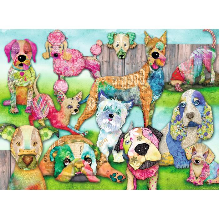 Pièces XXL - Patchwork Pups