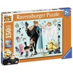 Puzzle  Ravensburger-10043 Pièces XXL - Minions