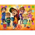 Puzzle  Ravensburger-10050 Pièces XXL - Alvin et les Chipmunks